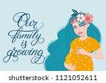 Vector Illustration Of Pregnan...