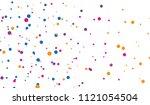 background of splash dot ... | Shutterstock .eps vector #1121054504