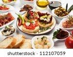 Table Full Of Mediterranean...