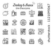finance and money icon. banking ...   Shutterstock .eps vector #1121095067