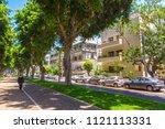 tel aviv yafo  israel   june 9  ...   Shutterstock . vector #1121113331