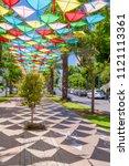 tel aviv yafo  israel   june 9  ... | Shutterstock . vector #1121113361