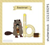 letter b lowercase cute... | Shutterstock .eps vector #1121150291