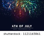 independence day usa. 4th of... | Shutterstock .eps vector #1121165861