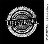 offspring written with...   Shutterstock .eps vector #1121178677