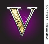 vector golden figure | Shutterstock .eps vector #112118771