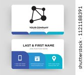 infographic  business card...