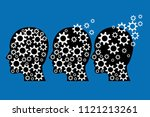 vector eps illustration of... | Shutterstock .eps vector #1121213261