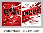 vector layout design template... | Shutterstock .eps vector #1121213834