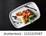european international fusion... | Shutterstock . vector #1121215187