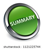 summary isolated on 3d soft... | Shutterstock . vector #1121225744