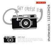 camera | Shutterstock .eps vector #112123424