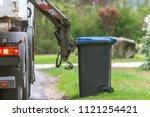 municipal waste disposal. with... | Shutterstock . vector #1121254421
