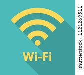 vector icon of wireless lan... | Shutterstock .eps vector #1121269511