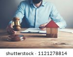 law and justice concept.man... | Shutterstock . vector #1121278814