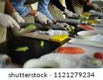 cooking master class | Shutterstock . vector #1121279234