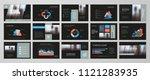black abstract presentation...   Shutterstock .eps vector #1121283935