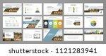 design element for slide...   Shutterstock .eps vector #1121283941