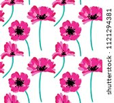 vector seamless pattern with... | Shutterstock .eps vector #1121294381