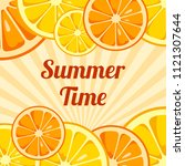 Summer Time Background With...