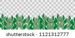 paper cut vector art. grass... | Shutterstock .eps vector #1121312777