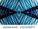 windows reflecting blue sky....   Shutterstock . vector #1121313677