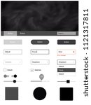 dark gray vector style guide...