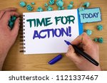 writing note showing time for... | Shutterstock . vector #1121337467