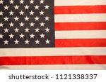 american flag   usa  ... | Shutterstock . vector #1121338337