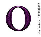 rough textured metallic purple... | Shutterstock . vector #1121340137