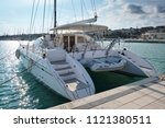 italy  sicily  mediterranean... | Shutterstock . vector #1121380511