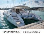 italy  sicily  mediterranean... | Shutterstock . vector #1121380517