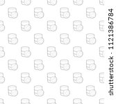 diagnosis database icon.... | Shutterstock .eps vector #1121386784