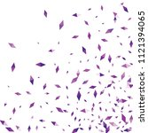 confetti of two colored rhombs... | Shutterstock .eps vector #1121394065
