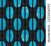 trendy seamless pattern in... | Shutterstock .eps vector #1121426291