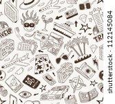 travel seamless background | Shutterstock .eps vector #112145084