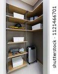 storage in house | Shutterstock . vector #1121466701