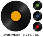 vector illustration of a vinyl... | Shutterstock .eps vector #1121478107