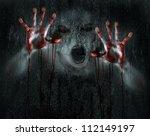 dark horror scene of a deformed ...   Shutterstock . vector #112149197