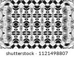 black and white pattern for...   Shutterstock . vector #1121498807