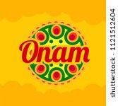 illustration of happy onam...   Shutterstock .eps vector #1121512604
