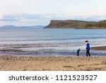 ballycastle  northern ireland   ... | Shutterstock . vector #1121523527