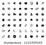 web icons set for computer.... | Shutterstock .eps vector #1121559245
