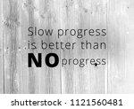 fitness motivation quote | Shutterstock . vector #1121560481