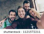 self portrait of four... | Shutterstock . vector #1121572211