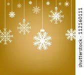 Golden Christmas Background...