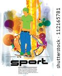 skateboarder   Shutterstock .eps vector #112165781