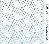 geometric vector pattern ... | Shutterstock .eps vector #1121662091