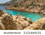 summer landscape with one of... | Shutterstock . vector #1121664131