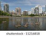 Waterfront Park In Urban...